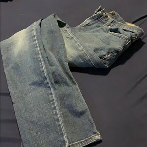 Nice Levi blue jeans with no rips or tears!